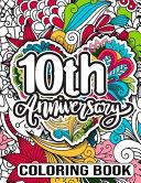 10th Anniversary Coloring Book