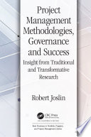 Project Management Methodologies  Governance and Success
