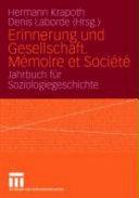 Erinnerung und Gesellschaft