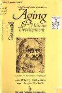 The International Journal of Aging   Human Development