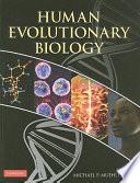 Human Evolutionary Biology