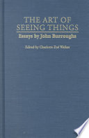The Art of Seeing Things