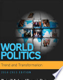 World Politics Trend And Transformation 2014 2015 Book Only