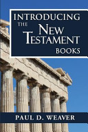 Introducing the New Testament Books Book PDF