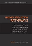 Higher Education Pathways Pdf/ePub eBook