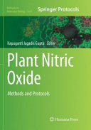 Plant Nitric Oxide  Methods and Protocols