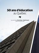Pdf 50 ans d'éducation au Québec Telecharger