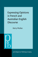 Pdf Expressing Opinions in French and Australian English Discourse Telecharger