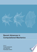 Recent Advances in Computational Mechanics Book