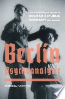 Berlin Psychoanalytic Book
