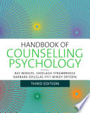 Handbook of Counselling Psychology Book