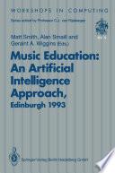 Music Education  An Artificial Intelligence Approach Book
