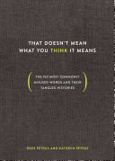 That Doesn't Mean What You Think It Means [Pdf/ePub] eBook