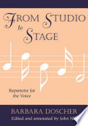 From Studio to Stage Book PDF