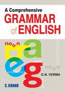 A Comprehensive Grammar of English Pdf/ePub eBook