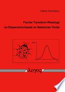 Fourier Transform Rheology on Dispersions Based on Newtonian Fluids