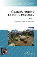 Grands profits et petits partages Pdf