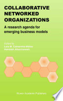 Collaborative Networked Organizations Book PDF