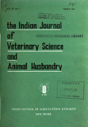 The Indian Journal Of Veterinary Science And Animal Husbandry