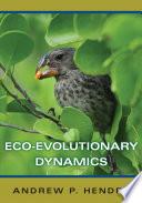 Eco evolutionary Dynamics Book