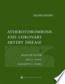 Atherothrombosis and Coronary Artery Disease Book