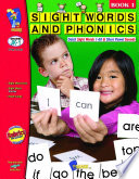 Sight Words   Phonics   Book 1  1 60 Dolch Sight Words  Gr  JK 1
