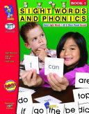 Sight Words & Phonics - Book 1 (1-60 Dolch Sight Words )Gr. JK-1 Pdf/ePub eBook