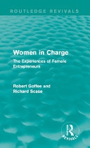 Pdf Women in Charge (Routledge Revivals) Telecharger