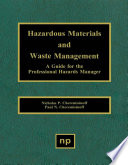 Hazardous Materials and Waste Management Book