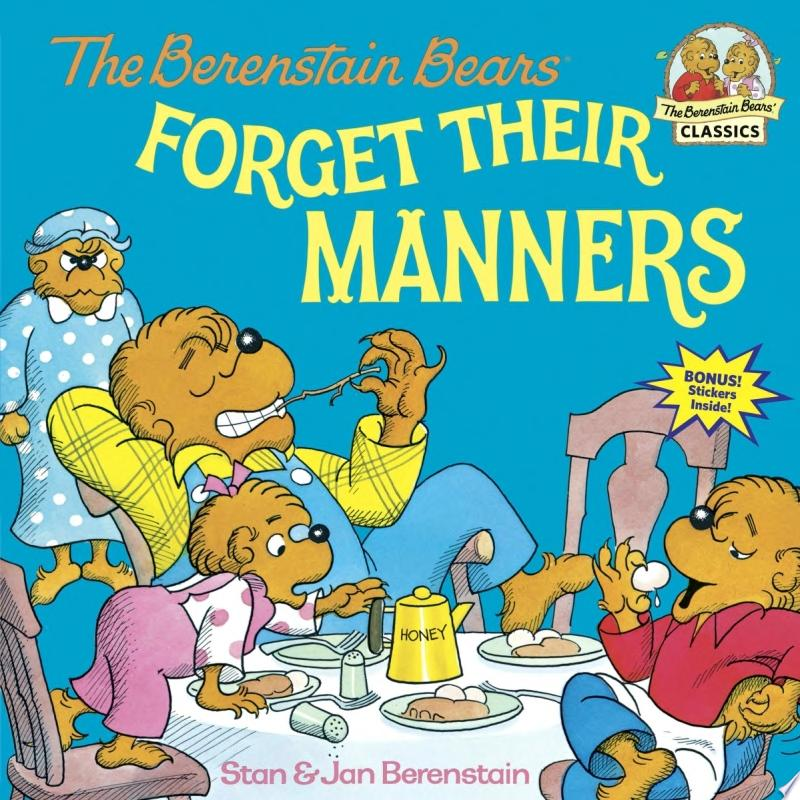 The Berenstain Bears Forget Their Manners banner backdrop