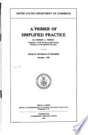 A Primer of Simplified Practice