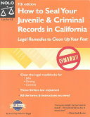 How to Seal Your Juvenile   Criminal Records in California