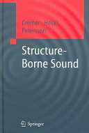 Cover image of Structure-borne sound : structural vibrations and sound radiation at audio frequencies