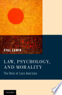Law  Psychology  and Morality