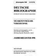 Deutsche Bibliographie ebook