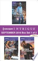 Harlequin Intrigue September 2016 Box Set 1 Of 2