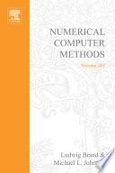 Numerical Computer Methods
