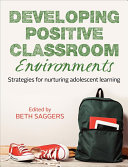 Cover of Developing Positive Classroom Environments