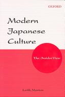Modern Japanese Culture