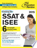 Cracking the SSAT   ISEE  2015 Edition