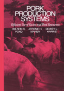 Pork Production Systems