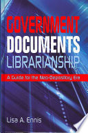 Government Documents Librarianship
