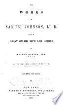 The Works Of Samuel Johnson Ll D