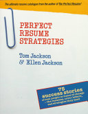Perfect Resume Strategies