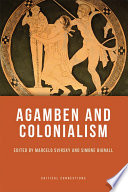 Agamben and Colonialism