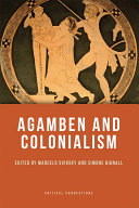Agamben and Colonialism ebook