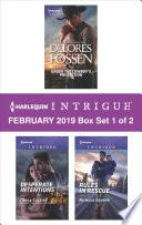 Harlequin Intrigue February 2019 Box Set 1 Of 2