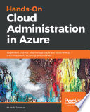 Hands On Cloud Administration In Azure