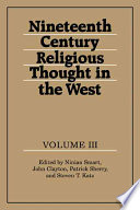 Nineteenth Century Religious Thought In The West Volume 3