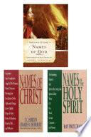 Names Of God Names Of Christ Names Of The Holy Spirit Set